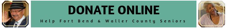 donate online - black font
