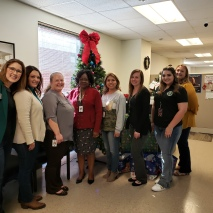County Clerk Beverly Walker & Staff